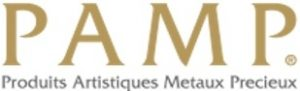 Logo du fondeur suisse Pamp.