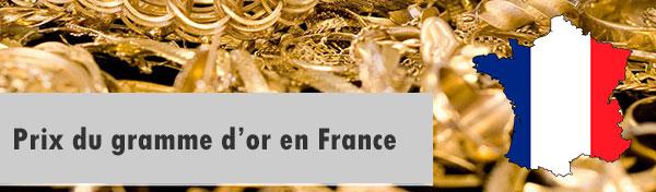 Prix Du Gramme D Or En France En 2017
