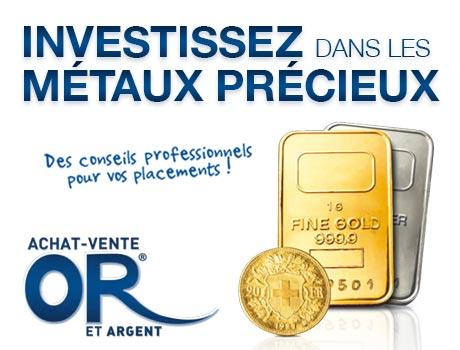Publicité de Gold Swiss Service Angers