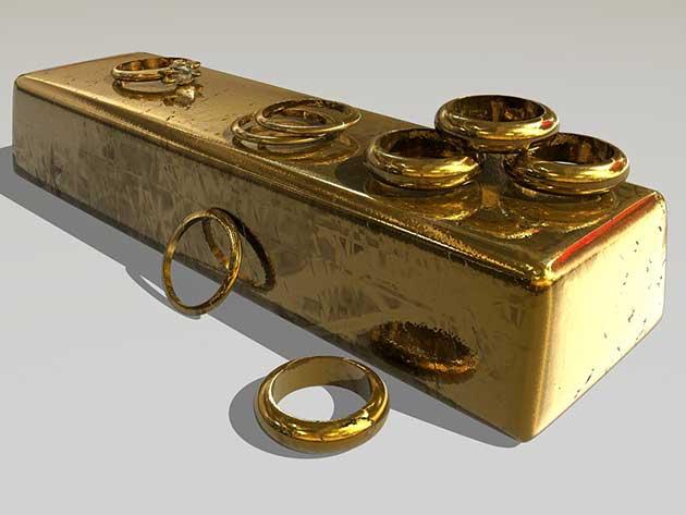 L'or reste stable autour des 1.340 $ l'once.