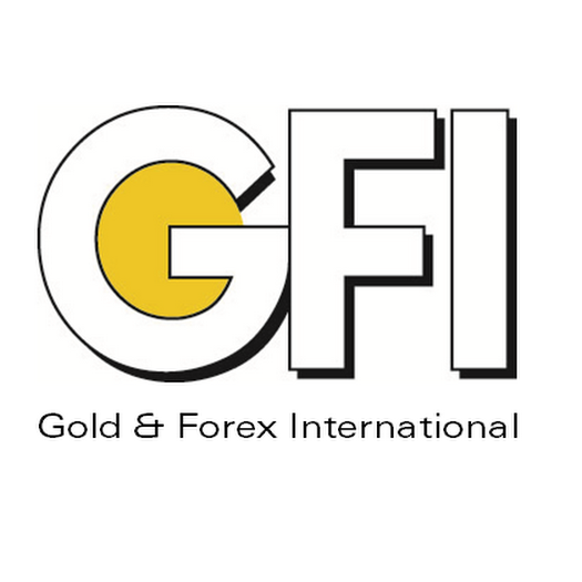 Logo de GFI – Gold & Forex International à Bruxelles.