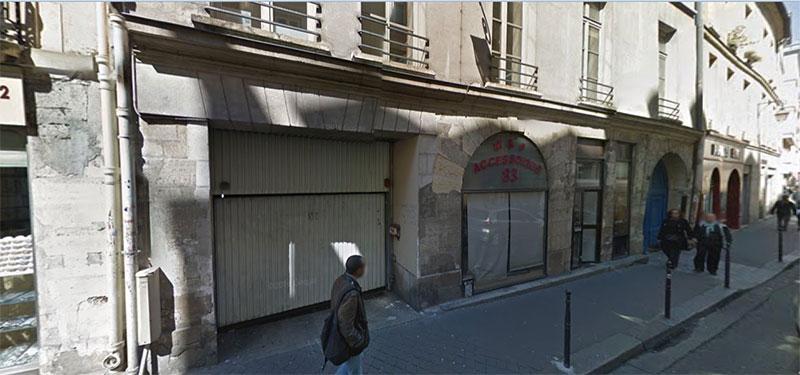 Localisation de cookson Rue du temple à PARIS
