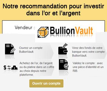 Notre recommandation pour investir dans l'or et l'argent