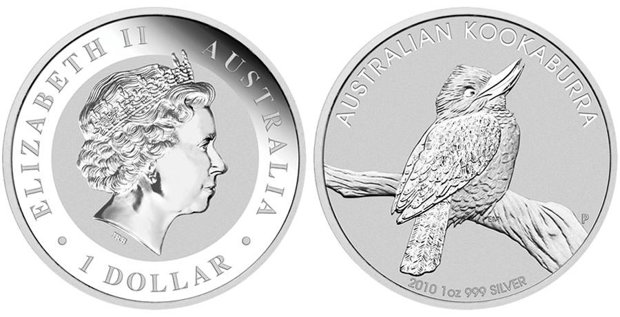 Émise par la Perth Mint Australienne, la Kookaburra est une pièce d'investissement en argent très recherchée