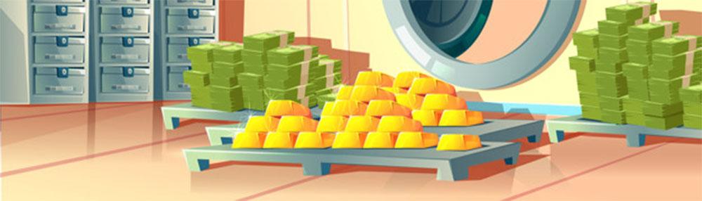 Illustration d'un offre fort. Le prix de l'or peut tomber à 1 300 $ l'once.