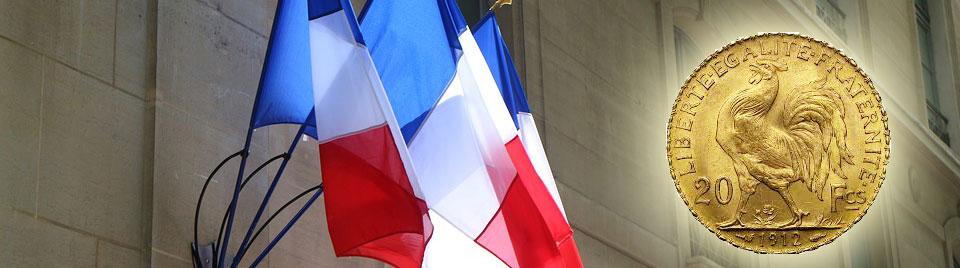 Article sur les pièces en or françaises.