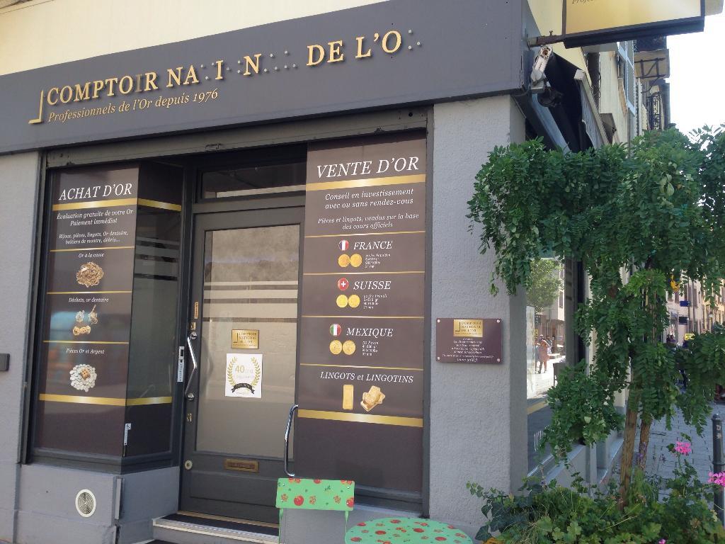 Le magasin sur strasbourg d'achat et vente or (Comptoir national de l'or Strasbourg)