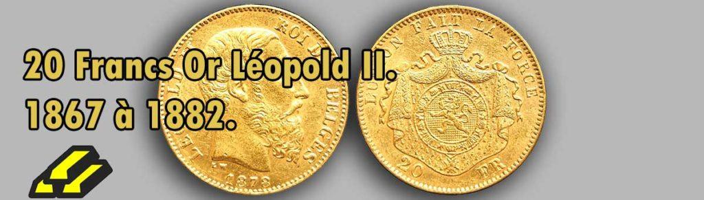 Les pièces d'or de 20 francs Victor Léolpod II.