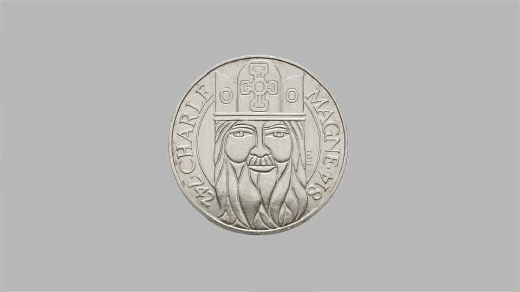 Article sur la 100 francs Argent Charlemagne.