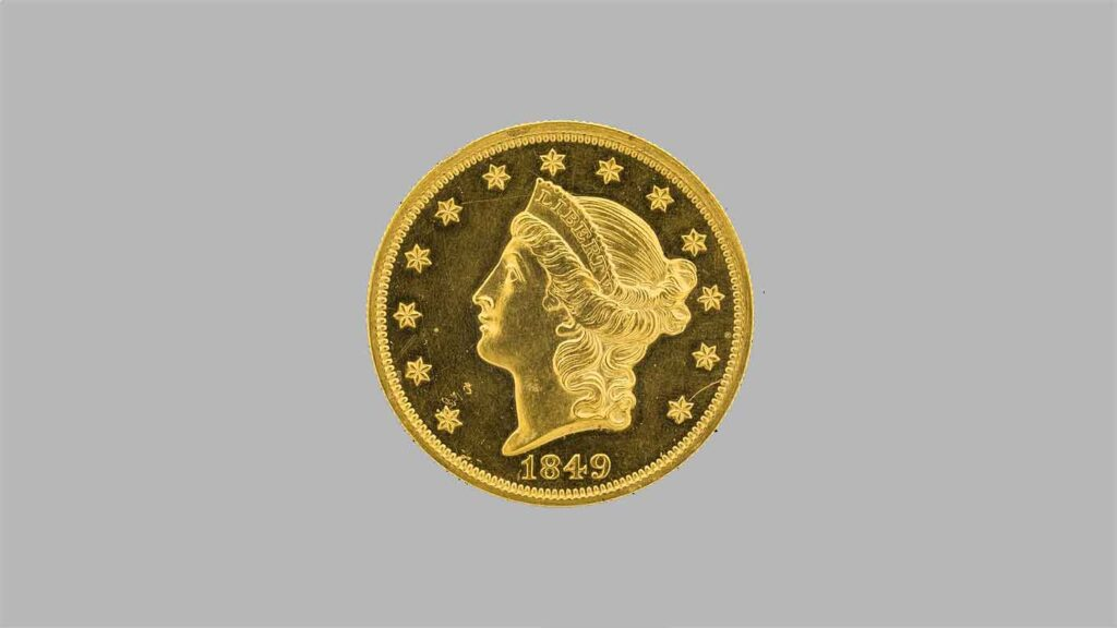 Tous les modèles et année des monnaie en or américaines de 20 Dollars « Tête de liberté » en OR.