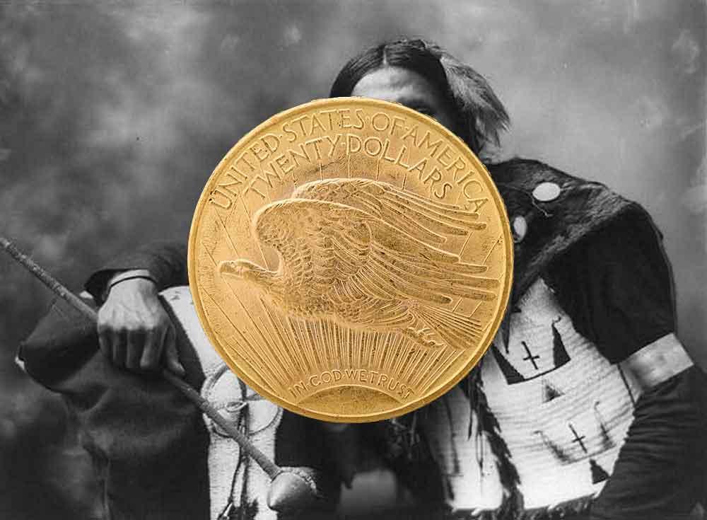 Tous les modèles et année des monnaies d'or américaines de 20 Dollars Eagle en OR.