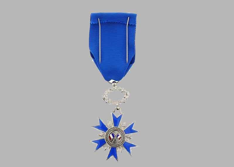L'Ordre national du Mérite est le second ordre national. Il récompense des mérites distingués acquis soit dans une fonction publique, civile ou militaire, soit dans l'exercice d'une activité privée